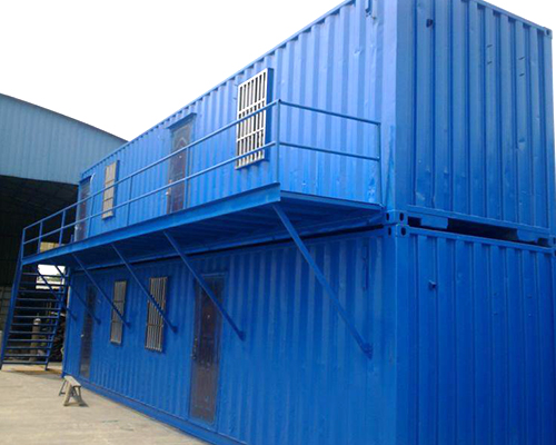哈尔滨集装箱房安装现场