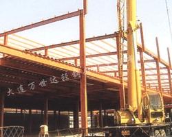 丹东钢结构安装现场