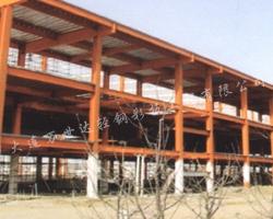 营口钢结构安装现场
