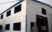 看看彩钢板的墙面和屋面
